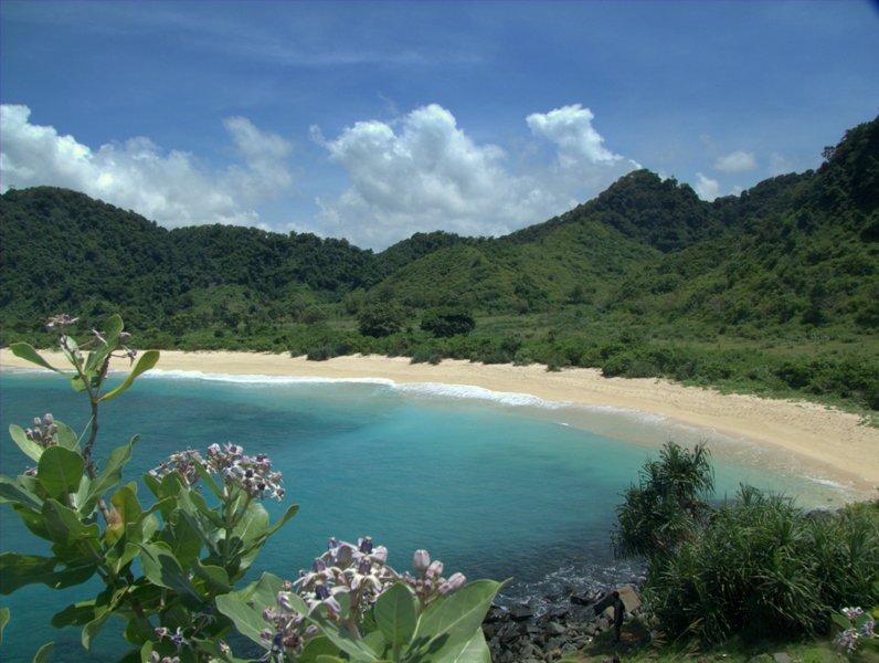 pantai-mawi-dari-bukit