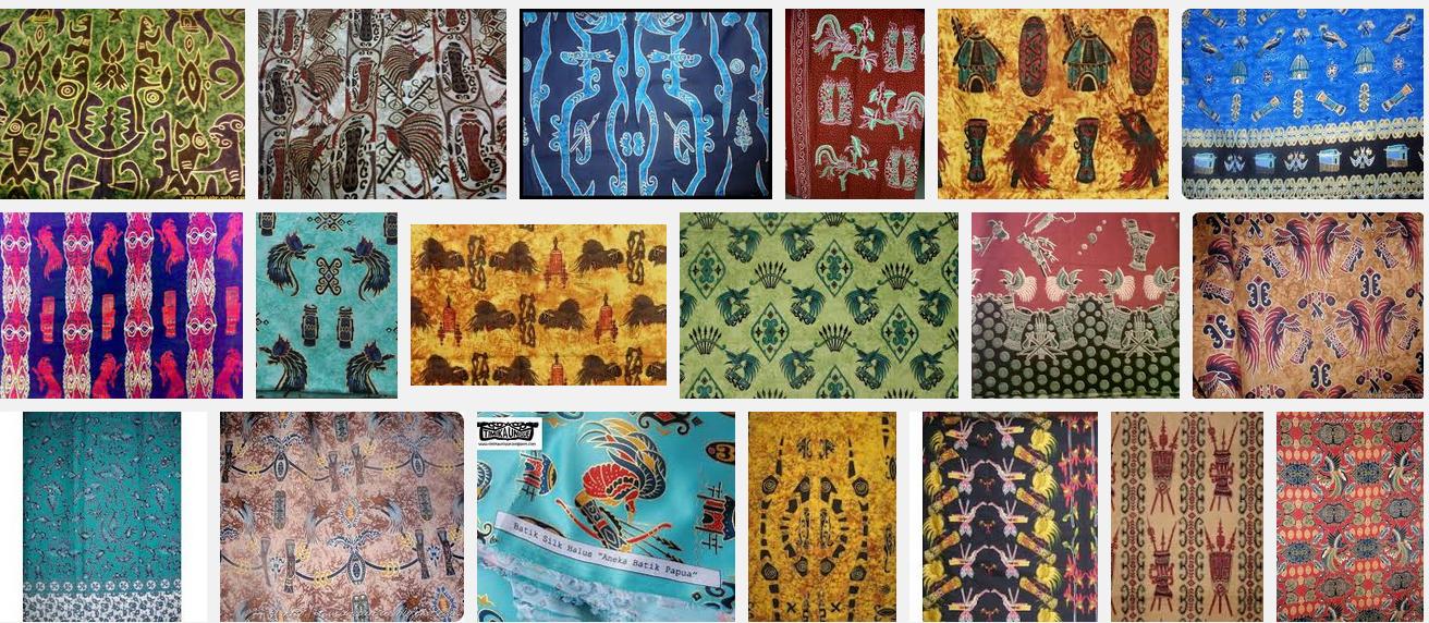 Batik Papua, Istimewanya Daratan Papua Di Sehelai Kain ~ Jackerton ...