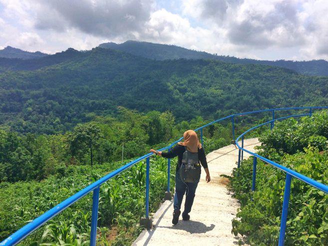 pesona-hijaunya-deretan-bukit-di-green-village-gedangsari-yogyakarta